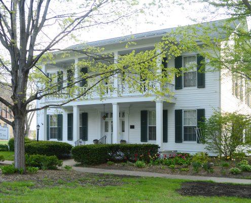 McElhinney House in Spring
