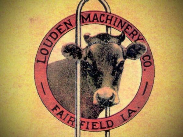 Louden Machinery Co. Logo, circa 1915