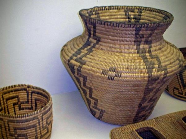 Pima Baskets, circa 1905